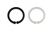 Bibs Ring Loops Mix Black/White (12 stuks)