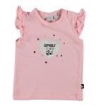 Babylook T-Shirt Korte Mouw Girl Blossom