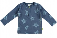 Babylook T-Shirt Turtle Faded Denim