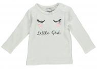 Babylook T-Shirt Girl White