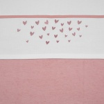 Meyco Laken Hearts Oudroze 100 x 150 cm