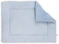 Jollein Boxkleed Fancy Knit Soft Baby Blue 80 x 100 cm