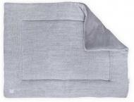 Jollein Boxkleed Melange Knit Soft Grey  80 x 100 cm