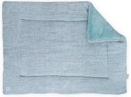 Jollein Boxkleed Melange Knit Soft Green 80 x 100 cm