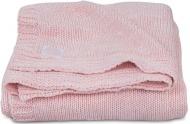 Jollein Deken Melange Knit Soft Pink      100 x 150 cm