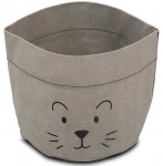 Commodemandje Paper Little Lion Grey