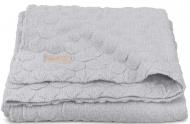 Jollein Deken Fancy Knit Soft Grey           75 x 100 cm