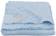 Jollein Deken Fancy Knit Soft Baby Blue  75 x 100 cm