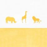 Jollein Laken Safari Ocher 120 x 150 cm