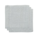 Little Lemonade Monddoek Badstof Soft Grey (3pack)