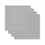 Hydrofiele Luiers (4 stuks)  Mini Dots Mist Grey