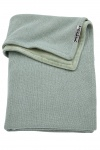 Meyco Deken Knit Basic DeLuxe Stone Green 75 x 100 cm