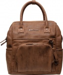 Little Company Diaperbackpack Riga Perfo Cognac