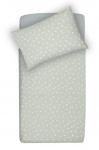 Little Lemonade Dekbedovertrek Dots Grey 100 x 140 cm