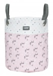Luma Toy Basket Medium Racoon Pink