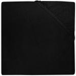 Little Lemonade Hoeslaken Boxmatras Jersey Black 75 x 95 cm