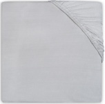 Little Lemonade Hoeslaken Boxmatras Jersey Soft Grey 75 x 95 cm