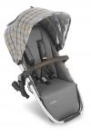 UPPAbaby Rumble Seat Spenser Grijs/Okergeel Tartan/Ruit