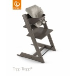 Stokke® Tripp Trapp® Mini Baby Cushion Timeless Grey (Organic Cotton)