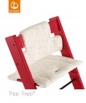 Stokke® Tripp Trapp® Classic Cushion Geometric Red (Organic Cotton)