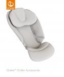 Stokke® Stroller Seat Newborn Inlay Mesh Light Grey