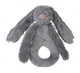 Happy Horse Rabbit Richie Rattle Deep Grey 18 cm