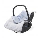 Jollein Comfortbag Fancy Knit Baby Blue