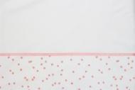 Briljant Laken Spots Pink 100 x 150 cm
