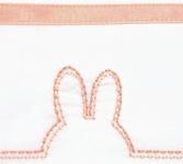 Briljant Laken Ears Dark Peach 75 x 100 cm