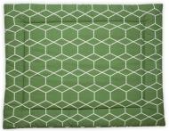 Briljant Boxkleed Grid Forrest 80 x 100