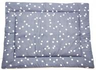 Briljant Boxkleed Spots Iron 80 x 100