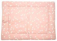 Briljant Boxkleed Spots Grey Pink 80 x 100