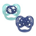 Dr. Brown's Fopspeen Fase 1 Blauw/Mint (2Stuks)