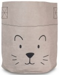 Jollein Opbergmand Little Lion XL Grey