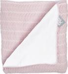 Baby Anne-Cy Wiegdeken Butterfly Pink  Flanel