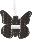 Baby Anne-Cy Speendoek Butterfly Dark Grey