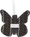 Baby Anne-Cy Speendoek Butterfly Dark Grey