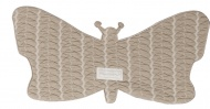 Baby Anne-Cy Spuugdoek Butterfly Beige