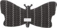 Baby Anne-Cy Spuugdoek Butterfly Dark Grey