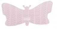 Baby Anne-Cy Spuugdoek Butterfly Pink