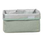 Cottonbaby Mandje Diamond Wafel Oudgroen