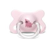 Suavinex Fopspeen Fusion Dog Pink -2/4mnd
