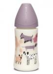 Suavinex Fles Fusion Dog Lilac 270ml