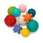 Infantino Textured Multi Ball Set 10