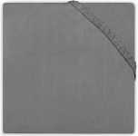 Little Lemonade Hoeslaken Jersey Dark Grey  70 x 140/150 cm