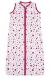 Meyco Slaapzak Zomer Dots Bright Pink  110cm