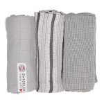 Lodger Swaddler Empire Mist 70x70 3pack