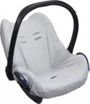 Dooky Seat Cover 0+ Light Grey Uni Melange