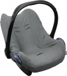 Dooky Seat Cover 0+ Dark Grey Uni Melange