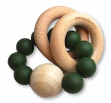 Chewies & More Rattle Deep Green